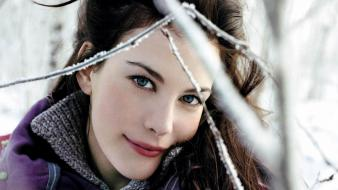 Actress models liv tyler celebrity fashion model wallpaper