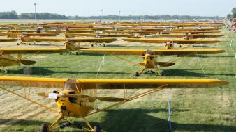 Aircraft aviation airventure piper cub wallpaper