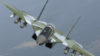 Aircraft interceptor mig-29 fulcrum airforce jet smt russians wallpaper