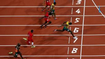 Athletics usain bolt olympics 2012 wallpaper