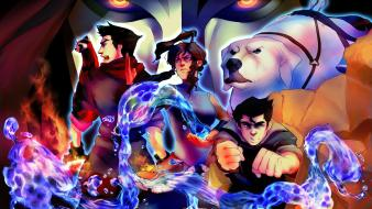 Avatar korra avatar: the legend of mako bolin Wallpaper