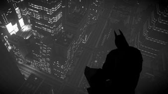 Batman silhouette the dark knight rises wallpaper