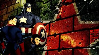 Captain america marvel comics Wallpaper