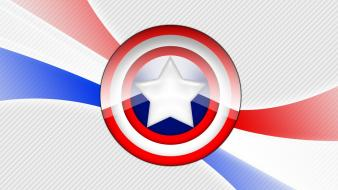 Captain america shield marvel comics Wallpaper