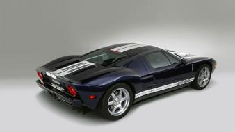 Cars ford gt white background black wallpaper