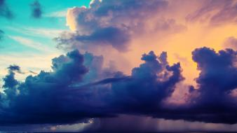 Clouds storm Wallpaper