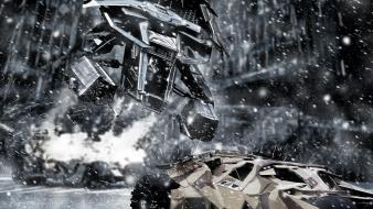 Fighting the dark knight rises armoured vehicles wallpaper