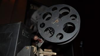 Film projector Wallpaper
