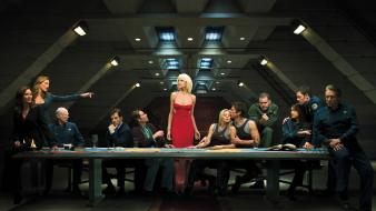 Galactica the last supper cylon tv series wallpaper