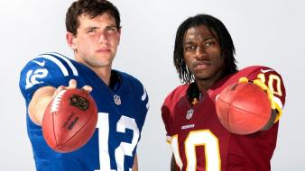 Indianapolis colts andrew luck robert griffin iii wallpaper