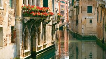 Italy venice canal cityscapes Wallpaper
