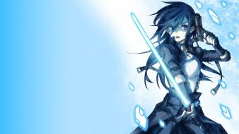 Kazuto kirito photon sword gun gale online wallpaper