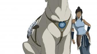 Korra naga (polarbear dog) Wallpaper