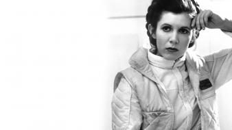 Leia organa wars: the empire strikes back wallpaper