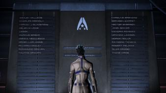Liara tsoni commander shepard ending sr2 normandy wallpaper
