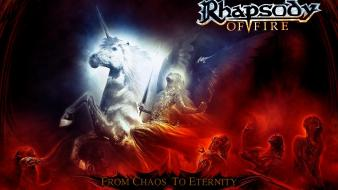 Metal chaos rhapsody power symphonic eternity of fire wallpaper