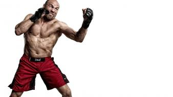 Mma boxer randy couture fighters wallpaper