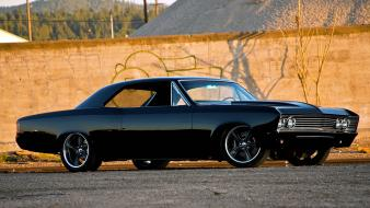 Muscle cars classic widescreen wallpaper