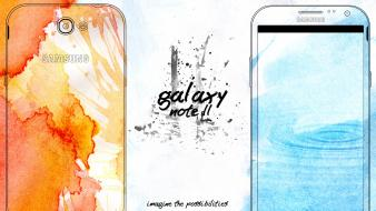 Nature multicolor technology samsung watercolor simple galaxy note wallpaper