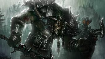 Paintings monsters beast minotaur wallpaper