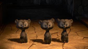 Pixar babies animation knives brave bears baby animals wallpaper