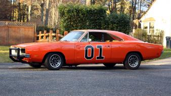 Rod charger 1969 general lee classic widescreen Wallpaper