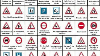 Signs funny wallpaper