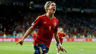 Spain national football team fernando torres stars wallpaper