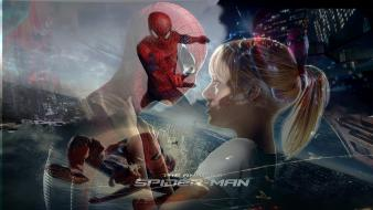 Spider-man emma stone gwen stacy the amazing Wallpaper