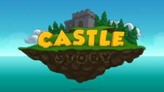 Video games castles islands castle story wallpaper