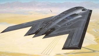 Aircraft stealth bomber b-2 spirit wallpaper