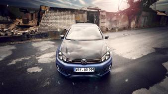 Cars golf tuning tuned volkswagen gti german wallpaper