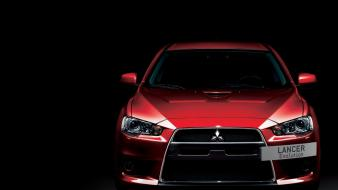 Cars mitsubishi lancer evolution x front view Wallpaper