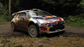 Cars motorsports world championship car citroën ds3 wallpaper