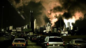 Chicago apocalypse apocalyptic Wallpaper