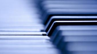Close-up music piano bokeh instruments keys Wallpaper