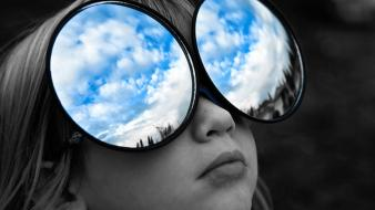 Clouds children wallpaper