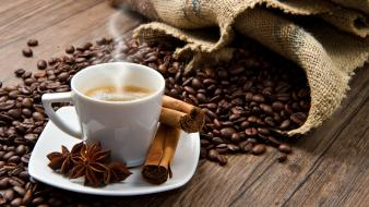 Coffee beans beverages wallpaper