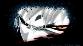 Eyes bleach hollow ichigo black background wallpaper
