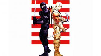 G.i. joe snake eyes storm shadow wallpaper
