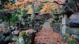 Japan architecture cemetery wallpaper