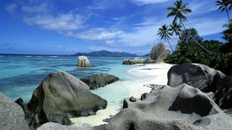 Landscapes nature seychelles wallpaper