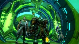 Lights weapons technology magic mmo swords wildstar wallpaper