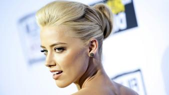 Lips celebrity magazines amber heard red tail Wallpaper