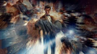 Matt smith dalek amy pond eleventh doctor who wallpaper