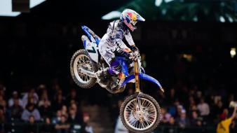 Motocross james stewart jump ama supercross js7 wallpaper