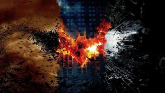 Movies symbol begins the dark knight rises wallpaper