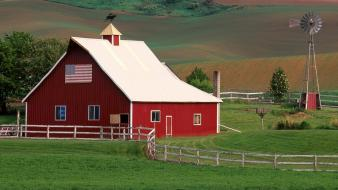 Nature country washington farm eastern wallpaper