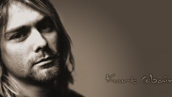 Nirvana kurt cobain sepia wallpaper