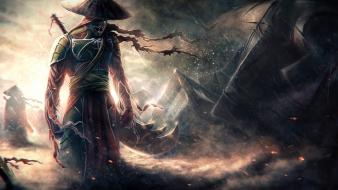 Samurai fantasy art Wallpaper